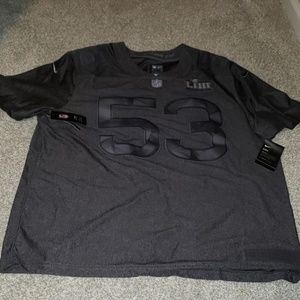 Nike Super Bowl 53 Dry fit Jersey nwt